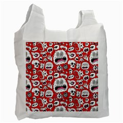 Another Monster Pattern Recycle Bag (two Side)