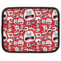 Another Monster Pattern Netbook Case (XL)