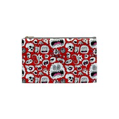 Another Monster Pattern Cosmetic Bag (Small)