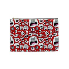 Another Monster Pattern Cosmetic Bag (Medium)