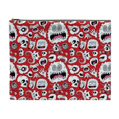 Another Monster Pattern Cosmetic Bag (xl)