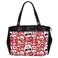 Another Monster Pattern Office Handbags (2 Sides)