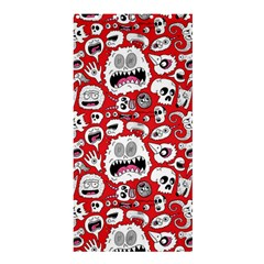 Another Monster Pattern Shower Curtain 36  X 72  (stall)