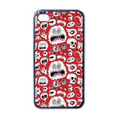 Another Monster Pattern Apple iPhone 4 Case (Black)