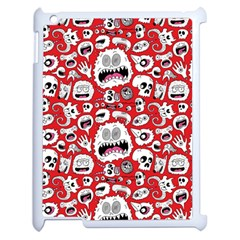 Another Monster Pattern Apple iPad 2 Case (White)