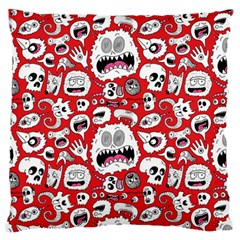 Another Monster Pattern Large Cushion Case (two Sides)