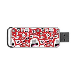 Another Monster Pattern Portable USB Flash (Two Sides)