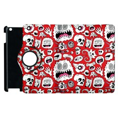 Another Monster Pattern Apple iPad 2 Flip 360 Case