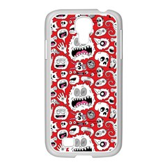 Another Monster Pattern Samsung Galaxy S4 I9500/ I9505 Case (white)