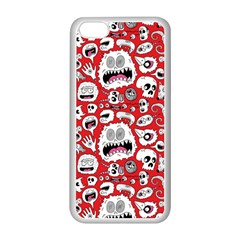 Another Monster Pattern Apple iPhone 5C Seamless Case (White)