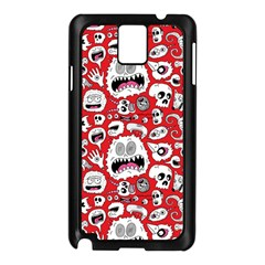 Another Monster Pattern Samsung Galaxy Note 3 N9005 Case (black)