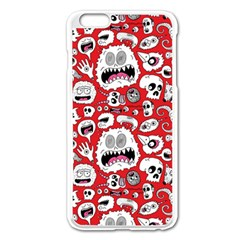 Another Monster Pattern Apple Iphone 6 Plus/6s Plus Enamel White Case