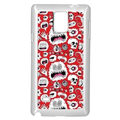 Another Monster Pattern Samsung Galaxy Note 4 Case (White)