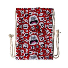 Another Monster Pattern Drawstring Bag (Small)