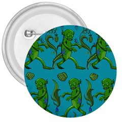 Swamp Monster Pattern 3  Buttons