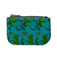 Swamp Monster Pattern Mini Coin Purses