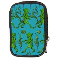 Swamp Monster Pattern Compact Camera Cases