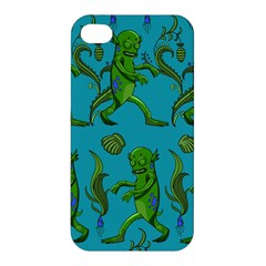 Swamp Monster Pattern Apple iPhone 4/4S Hardshell Case
