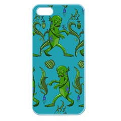Swamp Monster Pattern Apple Seamless iPhone 5 Case (Color)