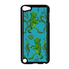 Swamp Monster Pattern Apple iPod Touch 5 Case (Black)