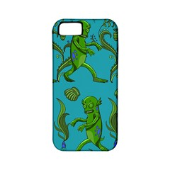 Swamp Monster Pattern Apple iPhone 5 Classic Hardshell Case (PC+Silicone)