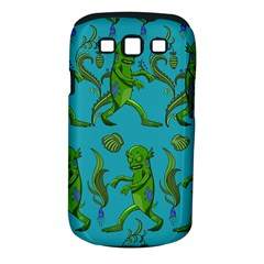 Swamp Monster Pattern Samsung Galaxy S III Classic Hardshell Case (PC+Silicone)