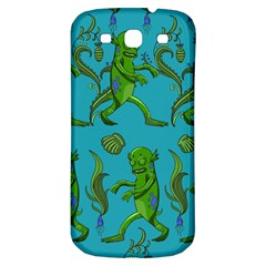 Swamp Monster Pattern Samsung Galaxy S3 S Iii Classic Hardshell Back Case