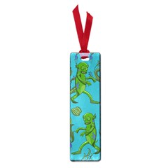 Swamp Monster Pattern Small Book Marks
