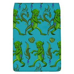 Swamp Monster Pattern Flap Covers (L)