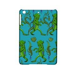 Swamp Monster Pattern Ipad Mini 2 Hardshell Cases