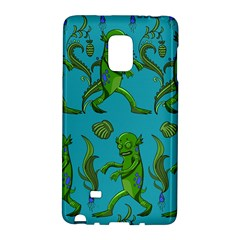 Swamp Monster Pattern Galaxy Note Edge