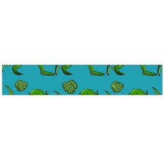 Swamp Monster Pattern Flano Scarf (large)