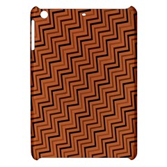Brown Zig Zag Background Apple Ipad Mini Hardshell Case