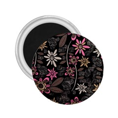 Flower Art Pattern 2.25  Magnets