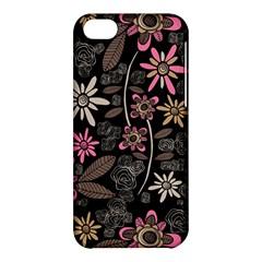 Flower Art Pattern Apple Iphone 5c Hardshell Case