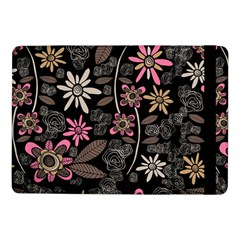 Flower Art Pattern Samsung Galaxy Tab Pro 10 1  Flip Case