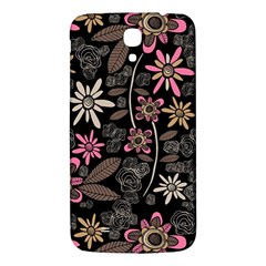 Flower Art Pattern Samsung Galaxy Mega I9200 Hardshell Back Case