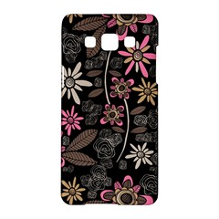 Flower Art Pattern Samsung Galaxy A5 Hardshell Case