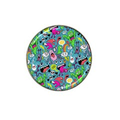 Monster Party Pattern Hat Clip Ball Marker