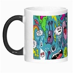 Monster Party Pattern Morph Mugs