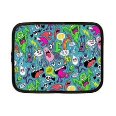 Monster Party Pattern Netbook Case (Small)