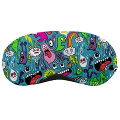 Monster Party Pattern Sleeping Masks