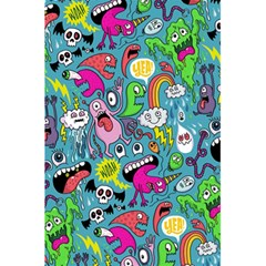 Monster Party Pattern 5.5  x 8.5  Notebooks