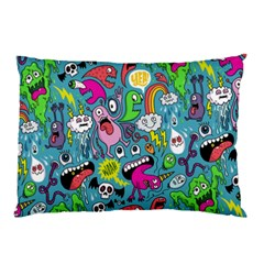 Monster Party Pattern Pillow Case (two Sides)