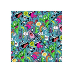 Monster Party Pattern Acrylic Tangram Puzzle (4  x 4 )