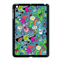 Monster Party Pattern Apple Ipad Mini Case (black)