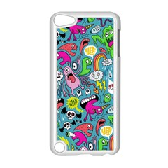Monster Party Pattern Apple iPod Touch 5 Case (White)