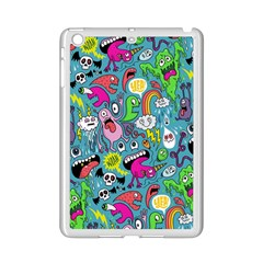 Monster Party Pattern Ipad Mini 2 Enamel Coated Cases