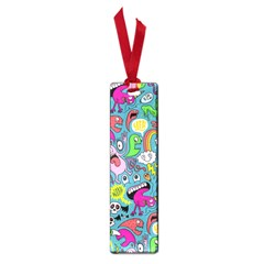 Monster Party Pattern Small Book Marks