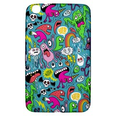 Monster Party Pattern Samsung Galaxy Tab 3 (8 ) T3100 Hardshell Case
